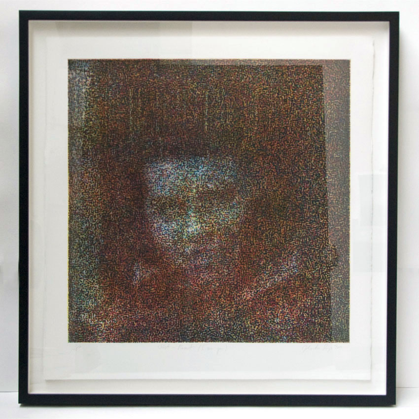 I See You, 64 x 66 cm, photo etching