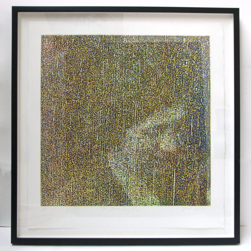 Look at Her, 64 x 66 cm, photo etching