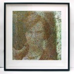 Look at Me, 64 x 66 cm, photo etching